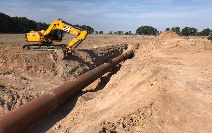 В Чабанах отремонтировали газопровод, где произошел взрыв / Фото ГТС
