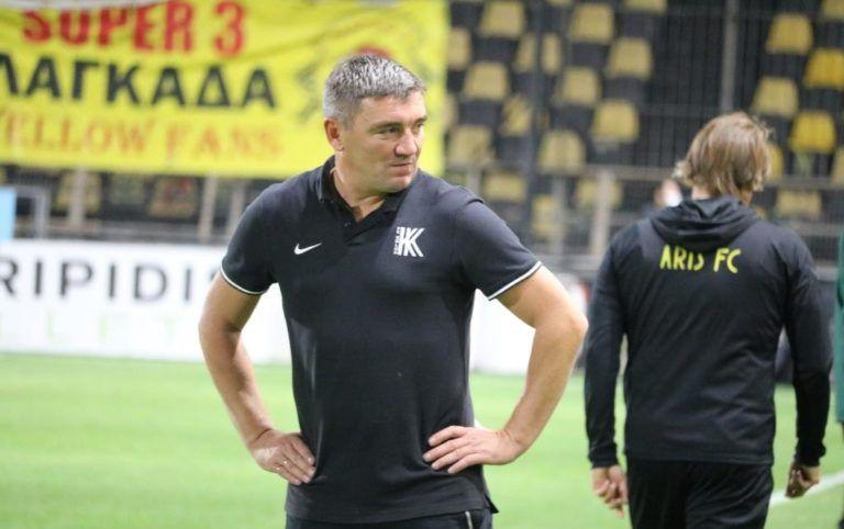 Руслаш Костышин считает, что плохое состояние поля помогло его команде / фото ФК Колос