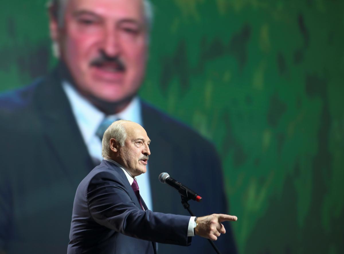 Лукашенко незадоволений позицією України щодо ситуації в Білорусі / фото REUTERS