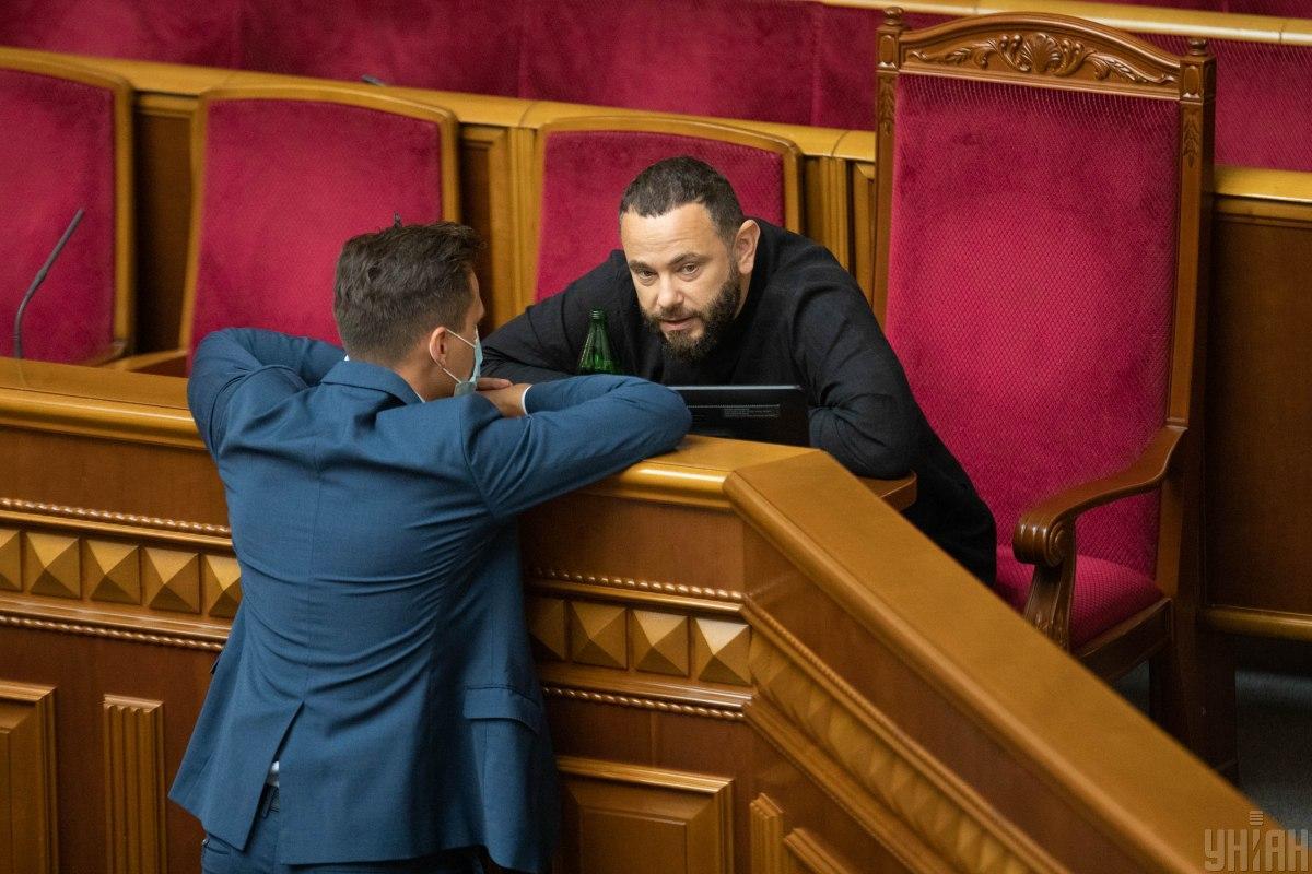 Бужанский требует выслушать посла США на заседании фракции относительно санкций против Дубинского / фото УНИАН