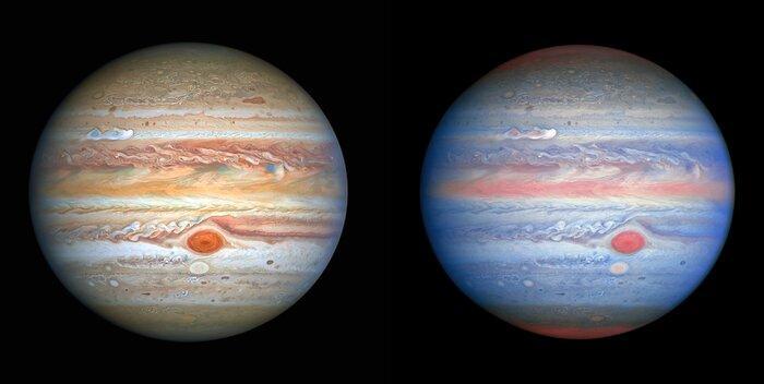 Планета-монстр: Хаббл зробив новий знімок Юпітера