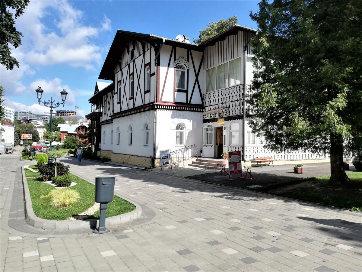Исторический центр Трускавца / фото Марина Григоренко