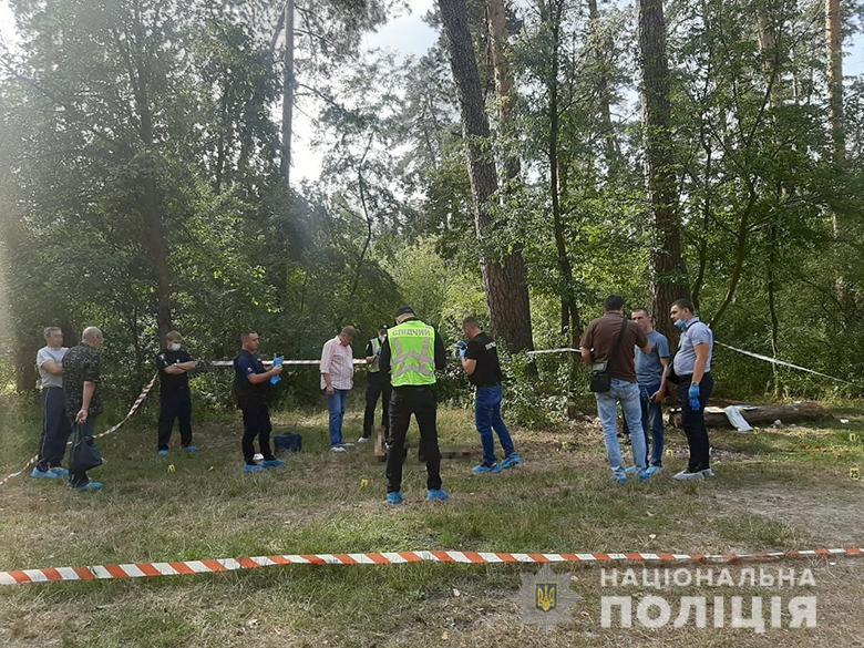 """Вбивство сталося в районі """"Академмістечка"""" / фото Нацполіція"""