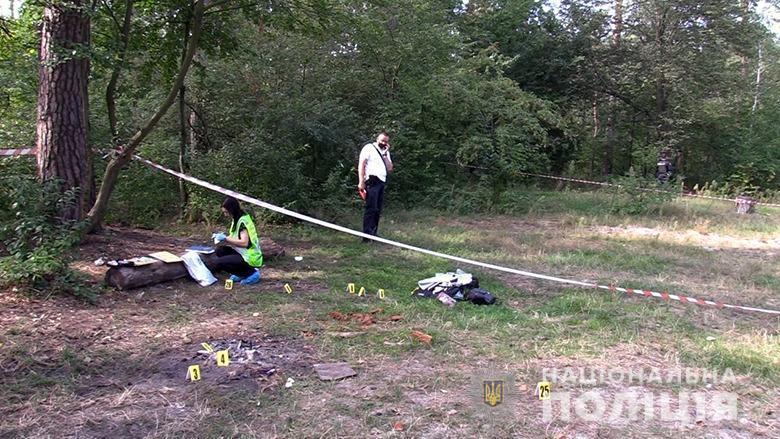 За телефон вбитого зловмисники отримали 15 тисяч гривень / фото Нацполіція