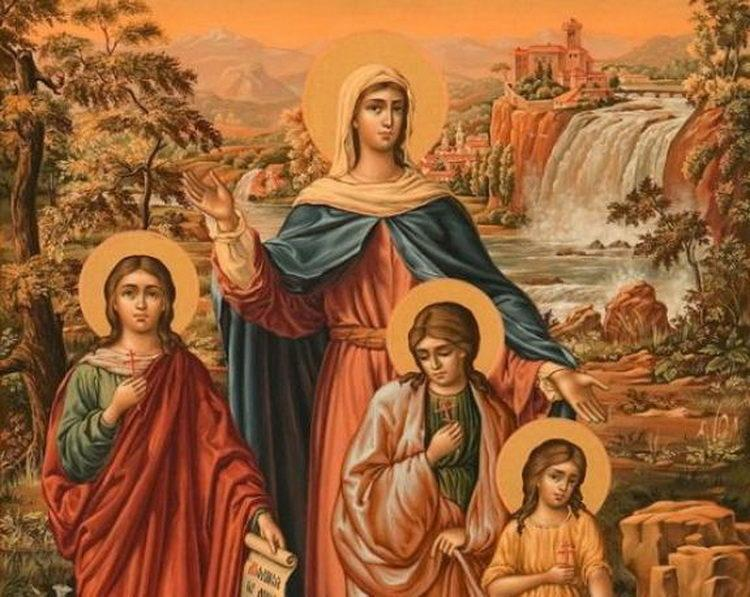 День Веры, Надежды, Любви и их матери Софии - дата и традиции / фото women365.ru