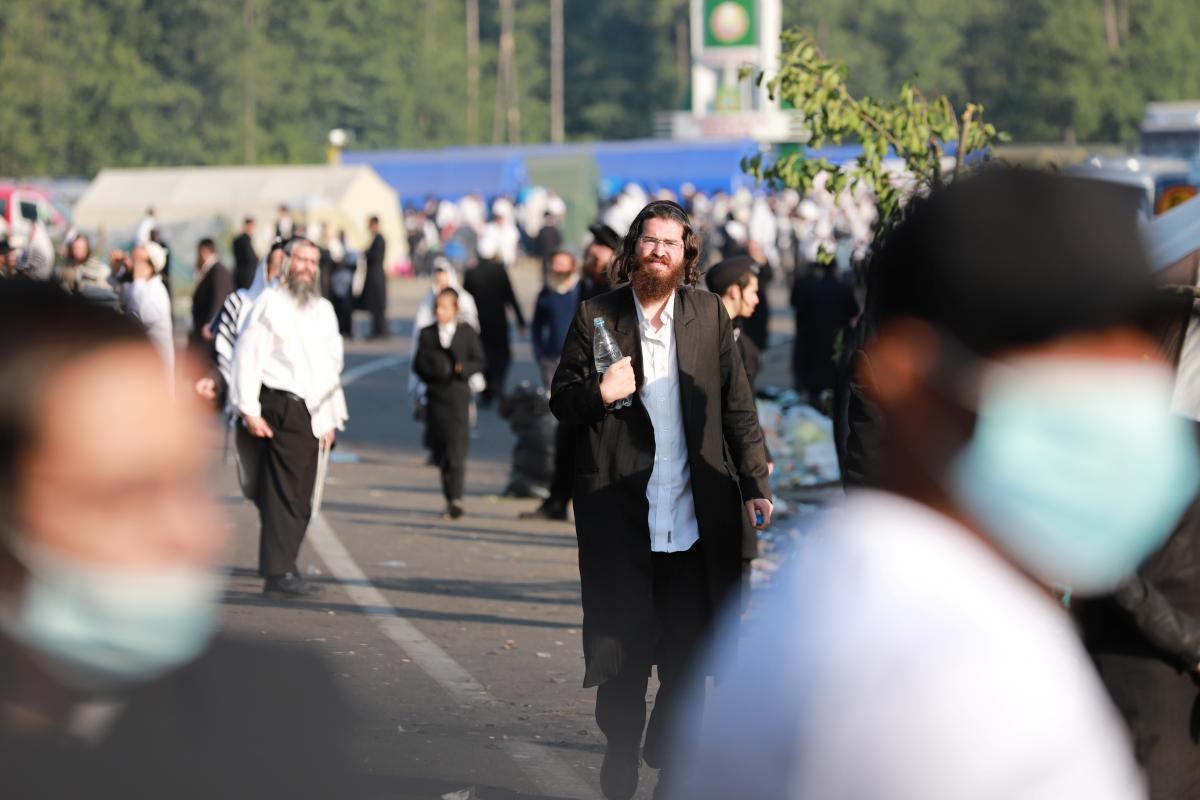 Хасиди повертаються до Білорусі / фото REUTERS