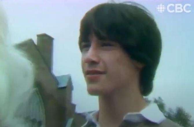 20-річний Кіану Рівз / скріншот з відео
