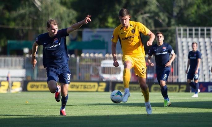Дніпро-1 провів невдалий домашній матч / фото ua-football.com
