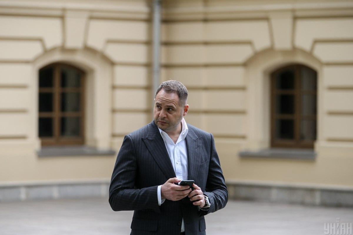 Yermak briefs on peace talks on Donbas / Photo from UNIAN, by Viacheslav Ratynsky