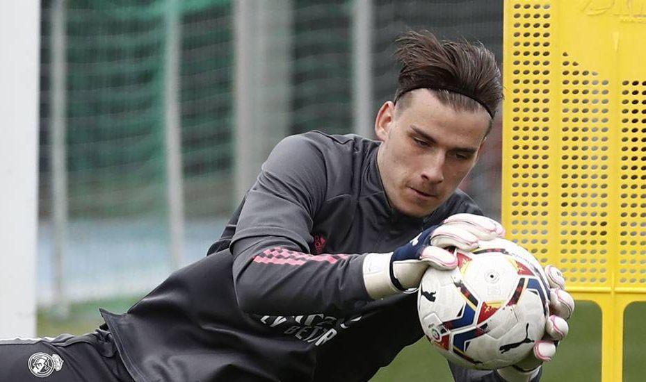 Андрей Лунин начнет новый сезон в Реале / фото realmadrid.com