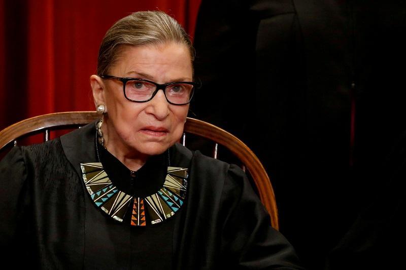 Гинзбург была назначена в Верховный суд в 1993 году / фото REUTERS