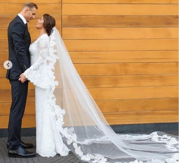 Седокова вышла замуж \ instagram.com/weddingbymercury/