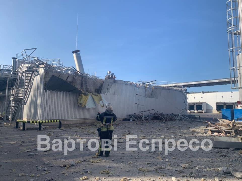 У Києві на пивзаводі стався вибух / фото facebook.com/vartovi.espreso