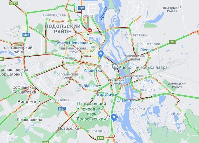 Скрин google.com/maps