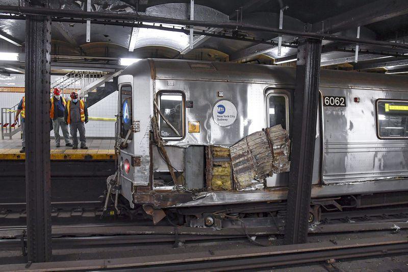 Инцидент произошел на Манхэттене в районе Челси / фото Marc A. Hermann/MTA New York City Transit