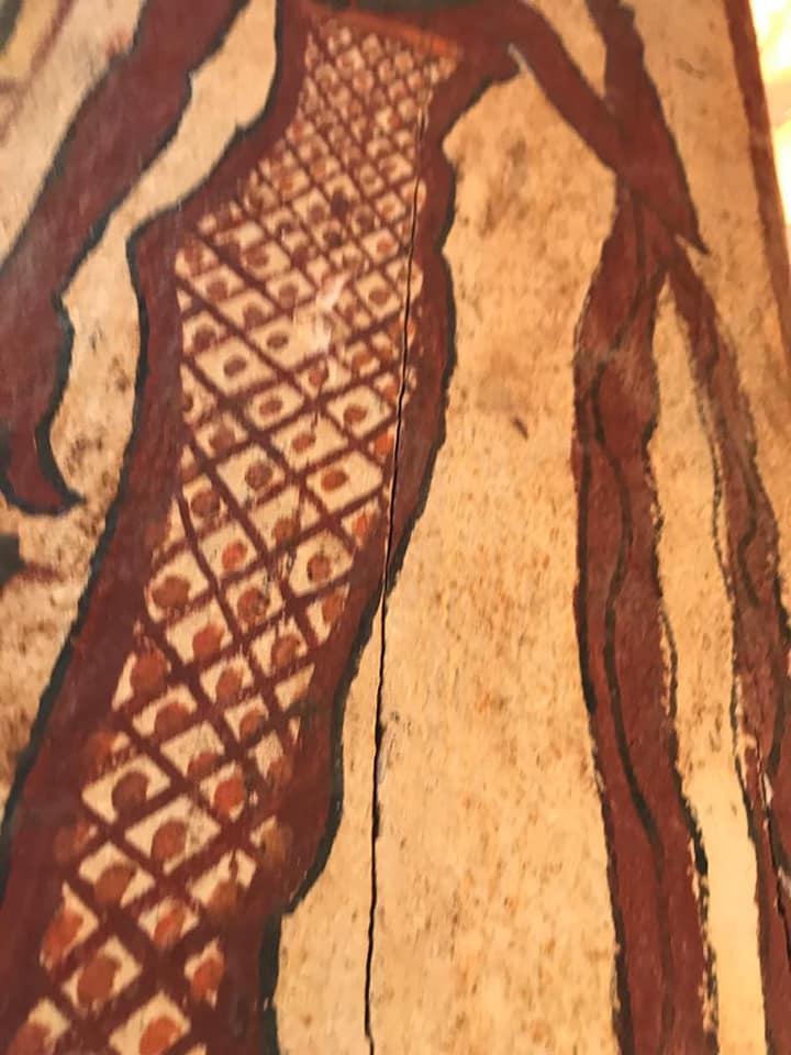 На дерев'яних саркофагах збереглася фарба / фото Міністерство туризму і пам'яток Єгипту