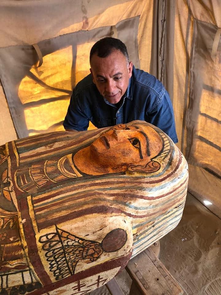 Вік знайдених саркофагів - 2 500 років / фото Міністерство туризму і пам'яток Єгипту