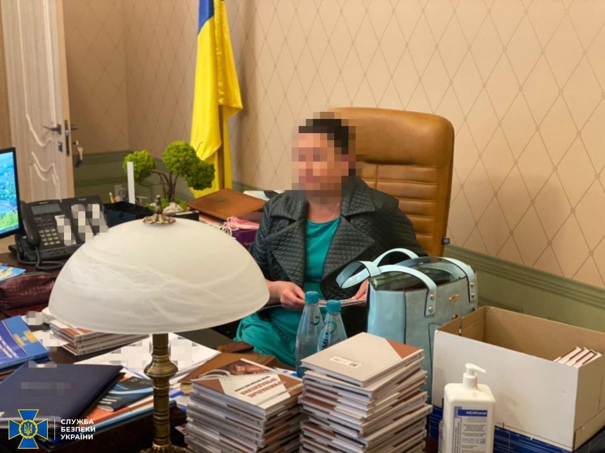 Голову Харківського окружного адмінсуду спіймали на передачі хабаря / фото ssu.gov.ua