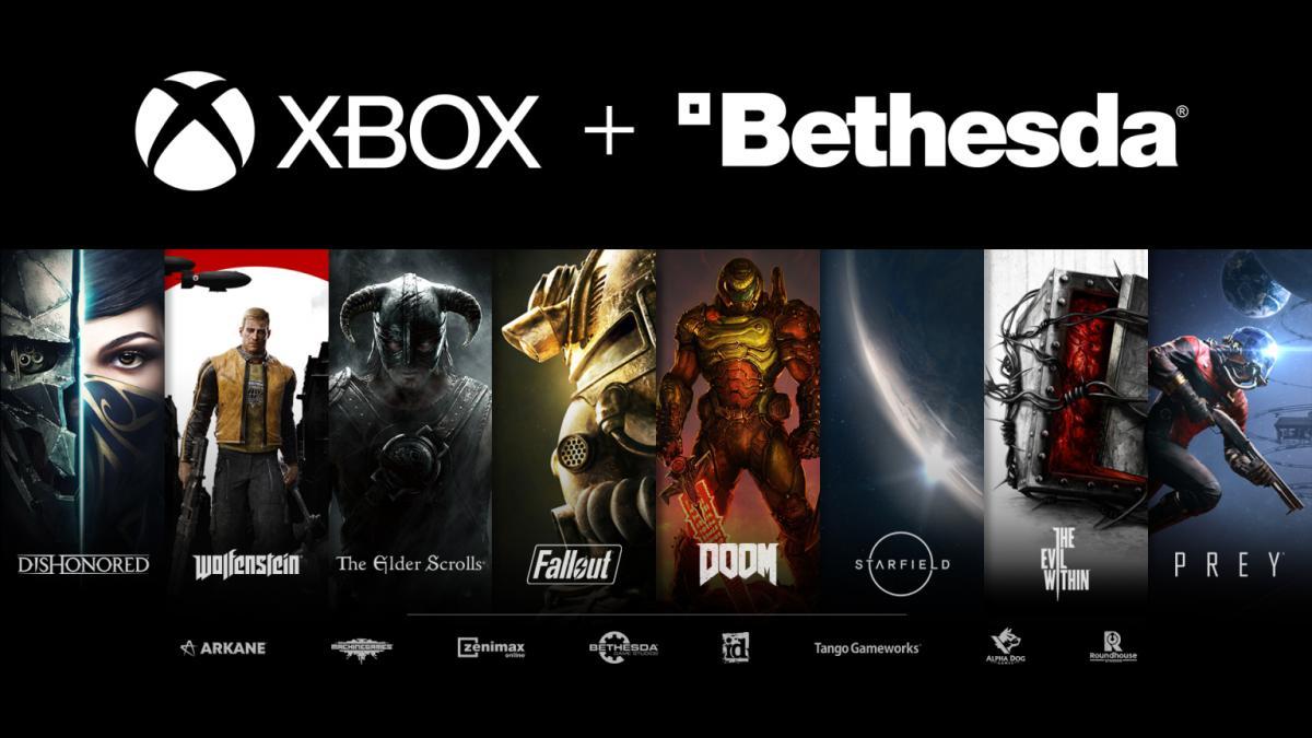 Все самые важные бренды Bethesda /фото news.xbox.com