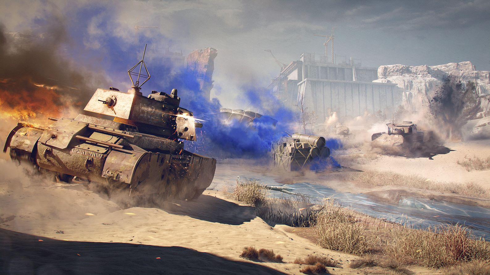 Королівська битва в World of Tanks буде доступна весь тиждень / фото wargaming.net