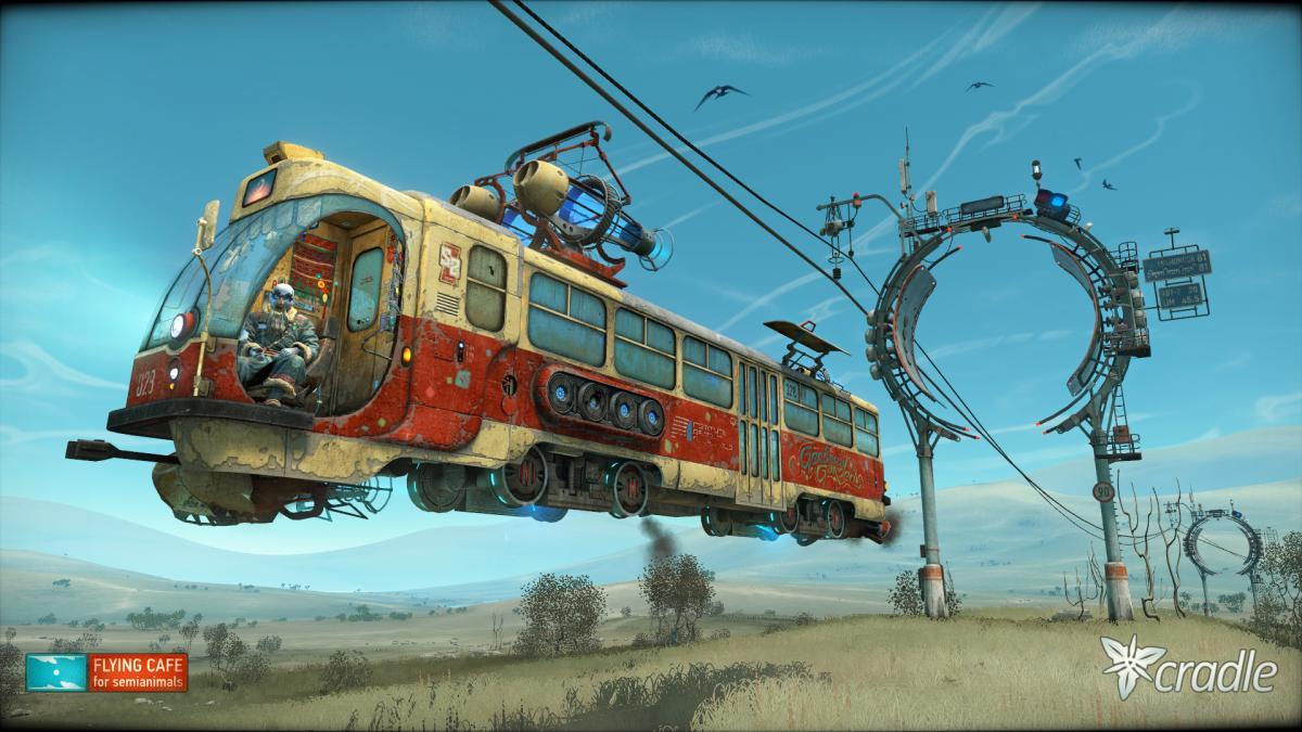 Cradle- дивовижна гра, озвучена українською мовою /фото Flying Cafe for Semianimals