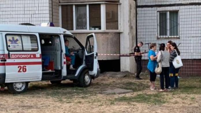 На место инцидента прибыли сотрудники полиции / фото dnpr.com.ua