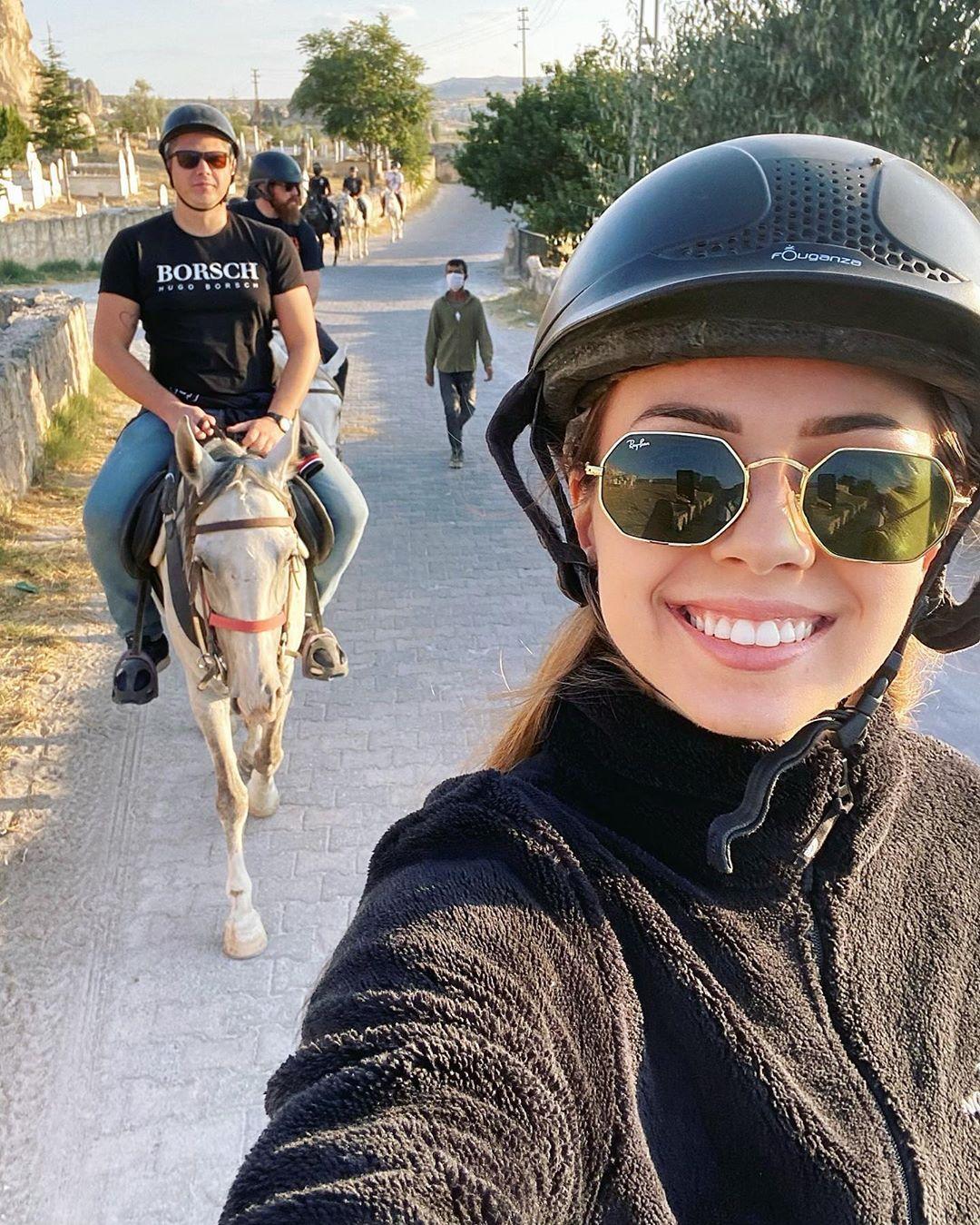 Пара отдыхает в Турции / фото Анастасия Зинченко, Instagram