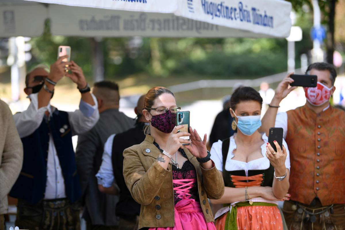 Октоберфест 2020 в Мюнхені / фото REUTERS