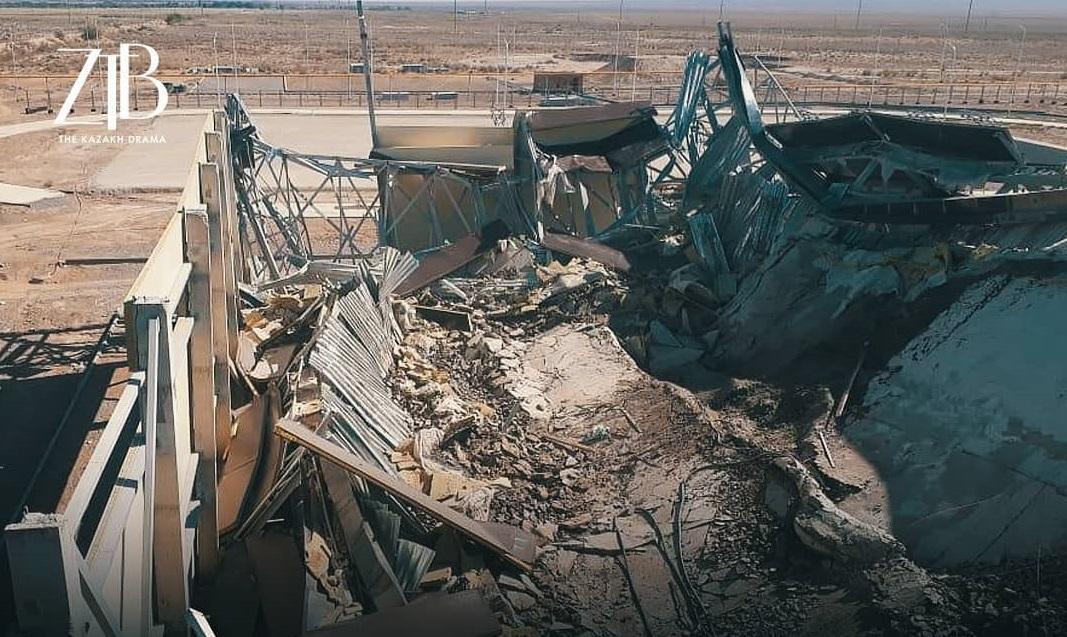 У Казахстані впав стадіон: причини, фото масштабної аварії/ ztb_kz