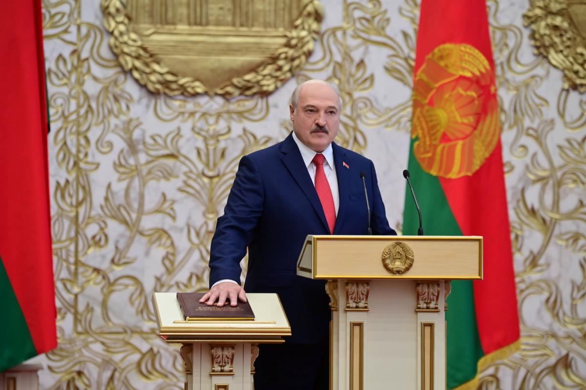 В Минске 23 сентября провели тайную инаугурацию Лукашенко / фото REUTERS