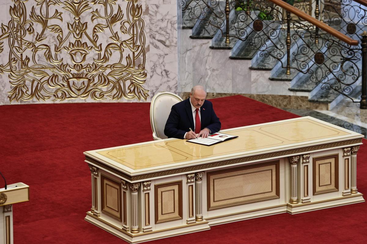 В Минске прошла тайная инаугурация Лукашенко / фото REUTERS