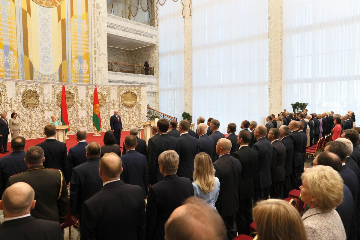 Инаугурация Лукашенко прошла в закрытом режиме / REUTERS