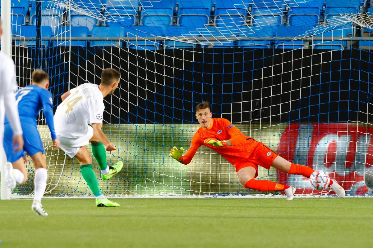 Ігор Харатін реалізував пенальті на 87-й хвилині / фото REUTERS