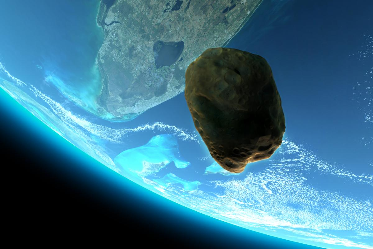 Сегодня ночью мимо Земли пролетит огромный астероид / фото ua.depositphotos.com