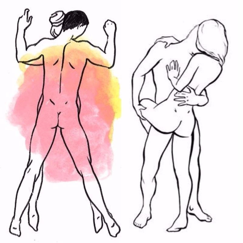 Не стоит отказываться от секса стоя, эта поза имеет ряд преимуществ / фото takprosto.cc