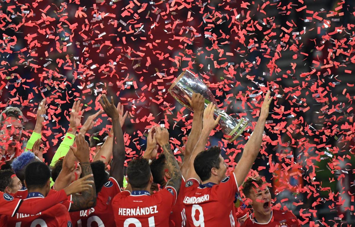 Бавария выиграла очередной международный трофей / фото REUTERS