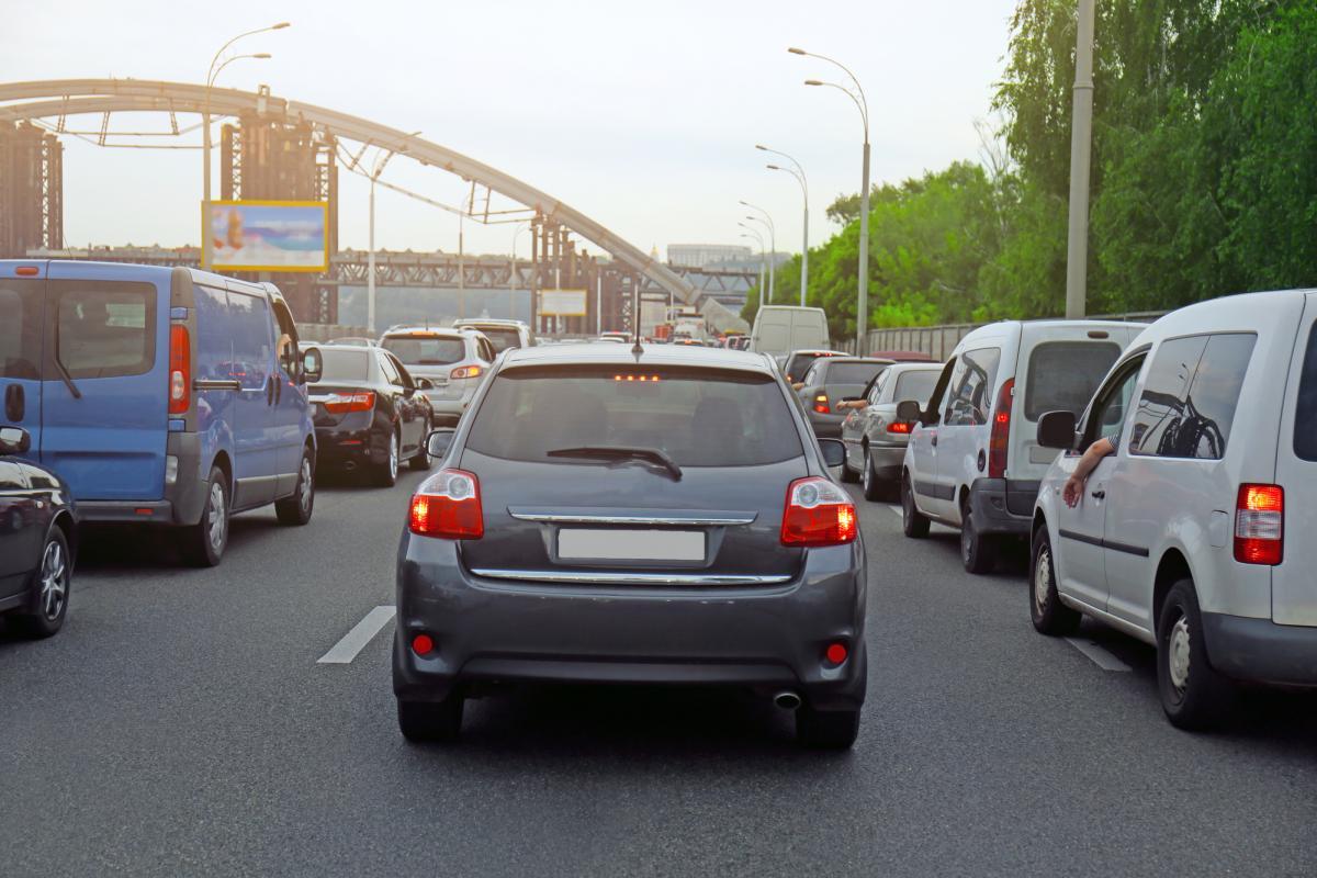 Ситуация на дорогах Киева 25 сентября / фото ua.depositphotos.com