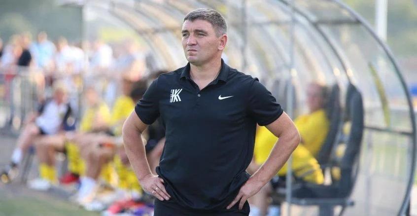 Костышин подчеркнул, что Колос хуже соперника приспособился к ливню / фото footboom.com