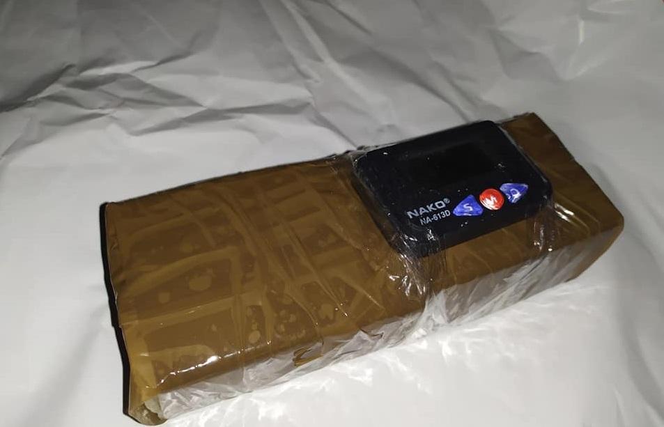 Взрывчатки в подарочном пакете не нашли / фото Facebook-страница Виталия Сихнаевского