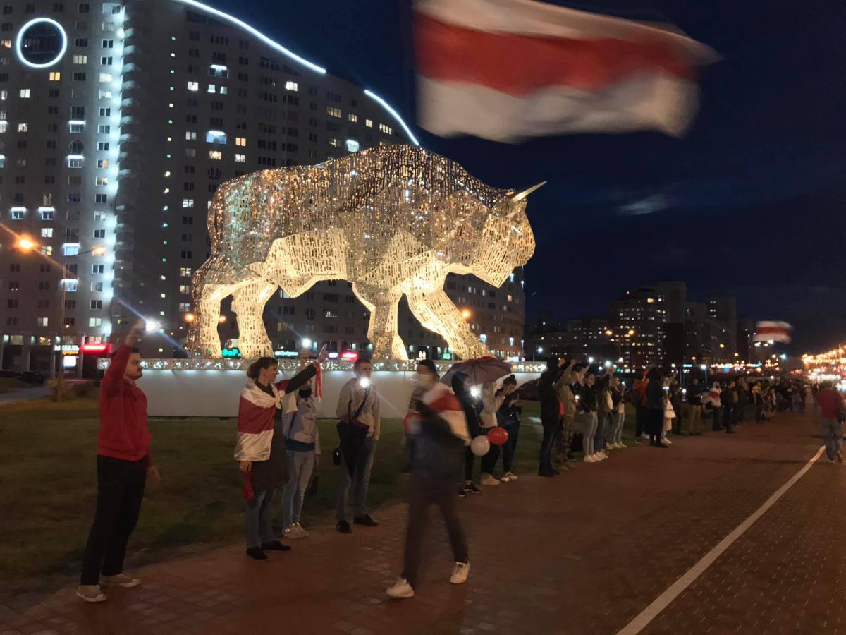 По словам Чудука, люди перебороли страх и готовы защищать свои права на улице / Фото facebook.com/pavel.chuduk