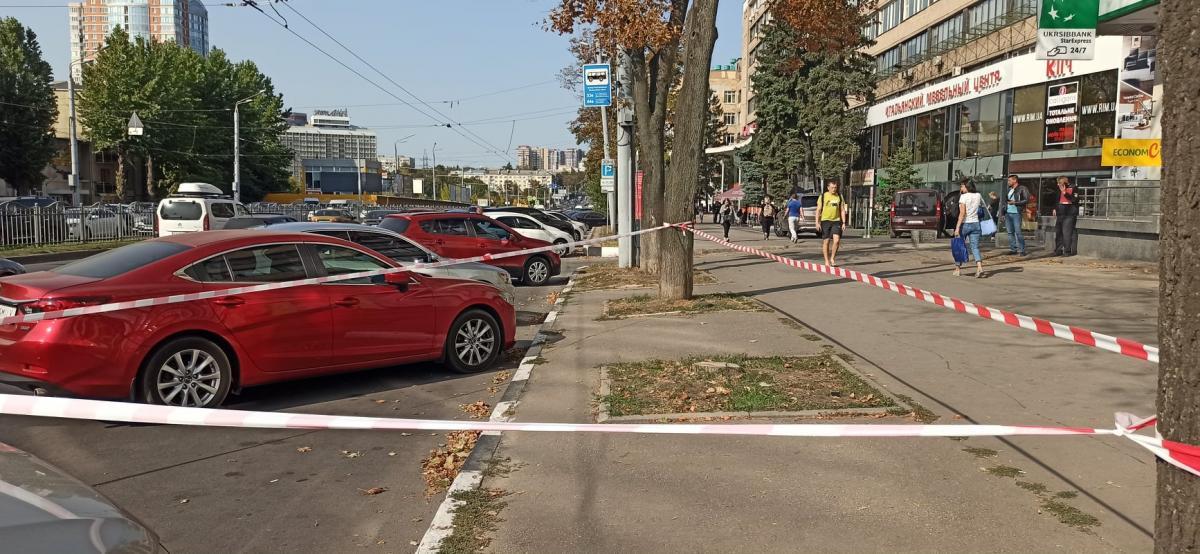 Через некоторое время автомобиль был найден на улице Минской / фото полиция Харьковской области