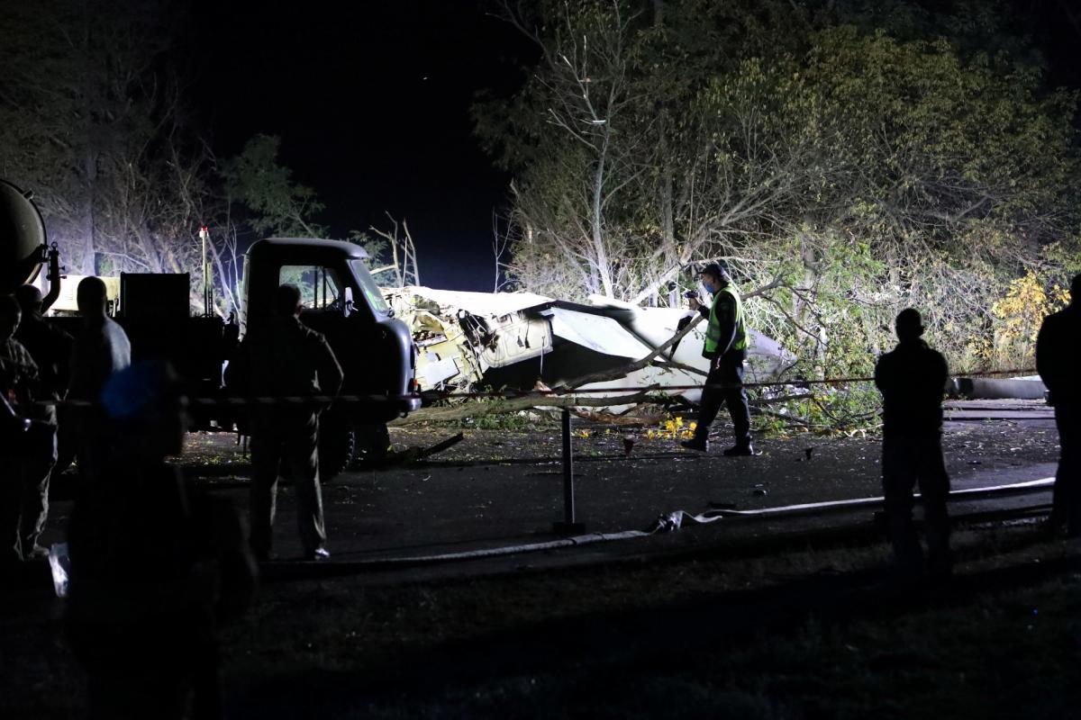 В Чугуеве Харьковской области разбился самолет АН - 26 / фото REUTERS