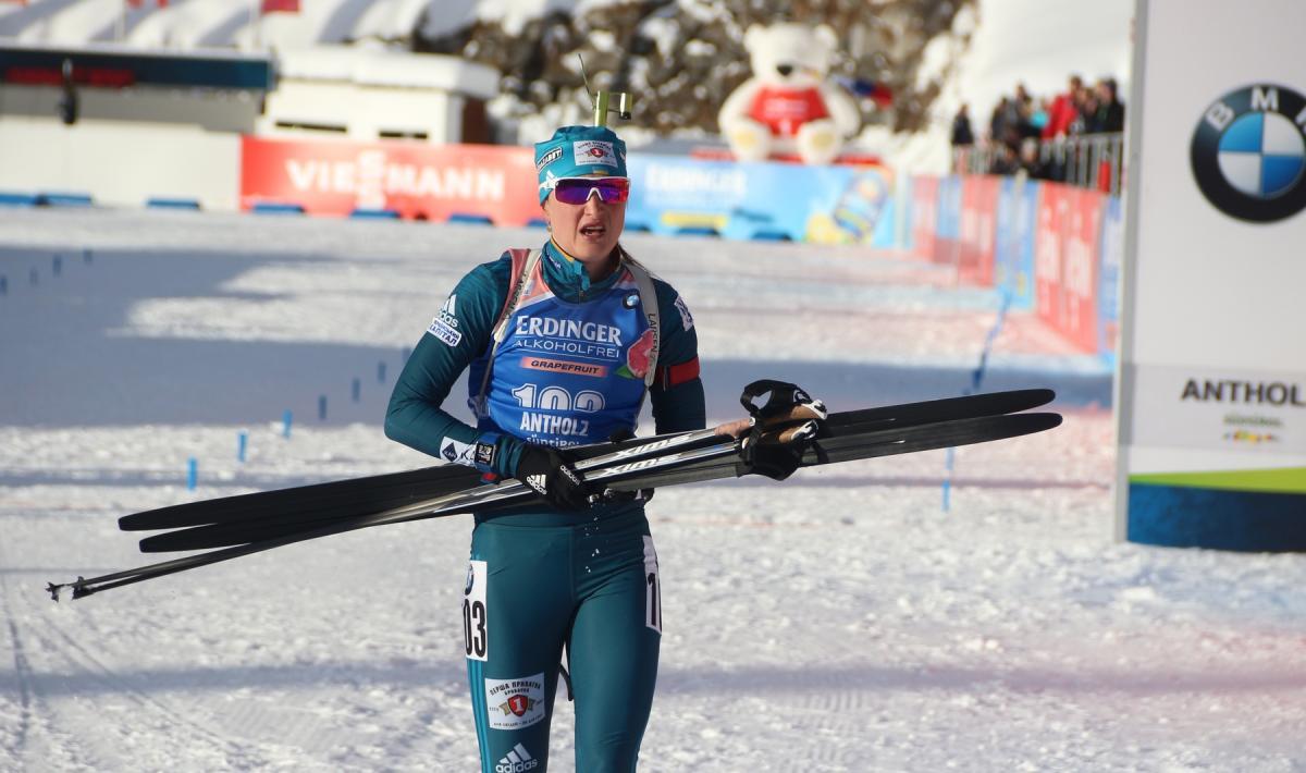 Ольга Абрамова в минулому сезоні виступала на Кубку IBU / biathlon.com.ua