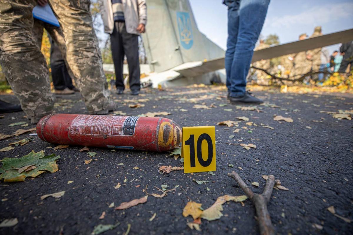Роботи на місці авіатрощі під Харковом завершено / REUTERS