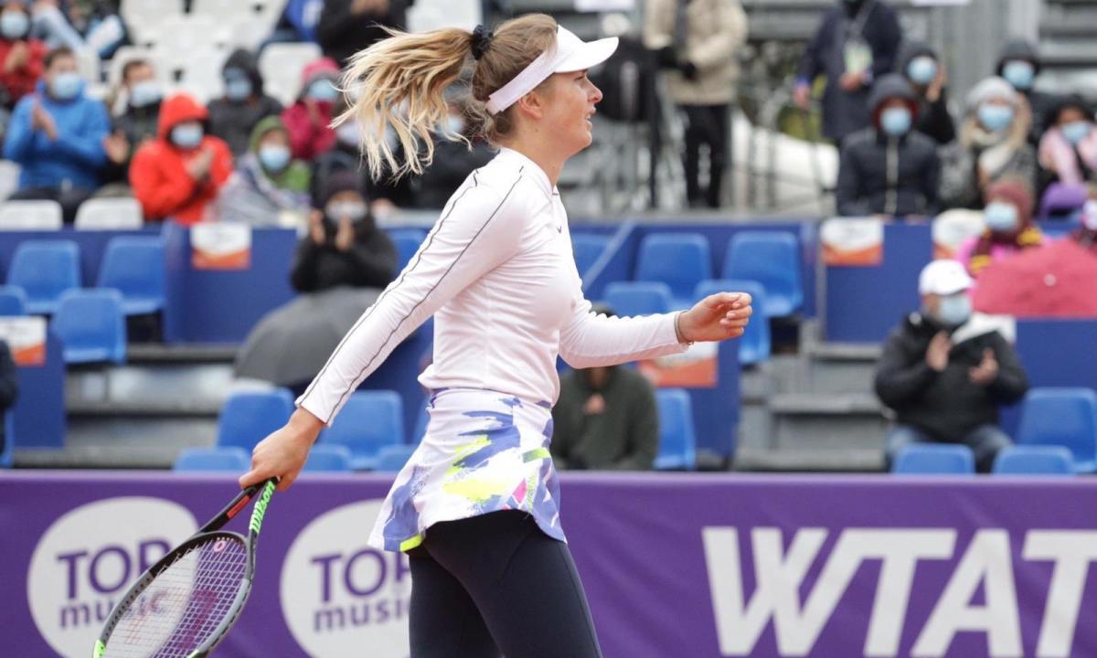 Еліна Світоліна перемогла у фіналі в трьох сетах / фото twitter.com/wta_strasbourg