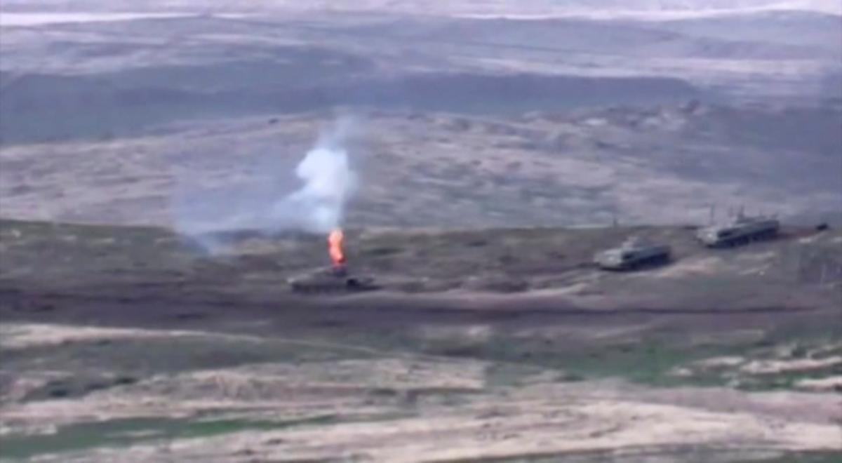 У Вірменії відзвітували про знищену техніку Азербайджану / REUTERS