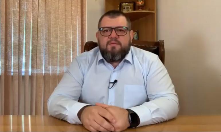 Галушко обратился к президенту / Скриншот