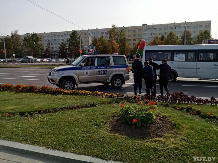 В Беларуси начались задержания / фото TUT.BY