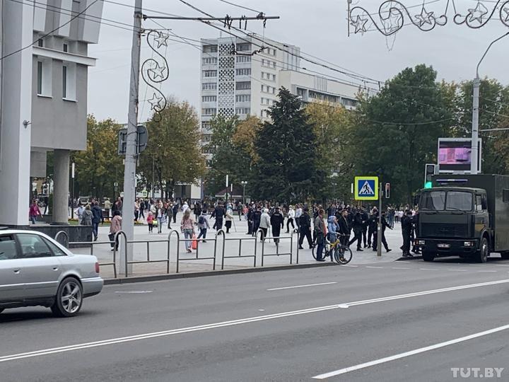 Протесты в Беларуси продолжаются уже 50 дней / фото TUT.BY