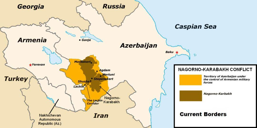 Война за Карабах / фото Алексей Арестович, Facebook